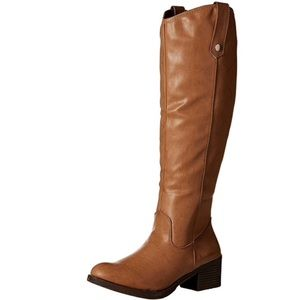 🍁Rampage Italie Cognac Riding Boot🍂